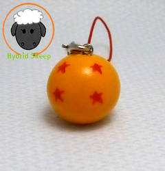 Four Star Dragonball Phone Charm