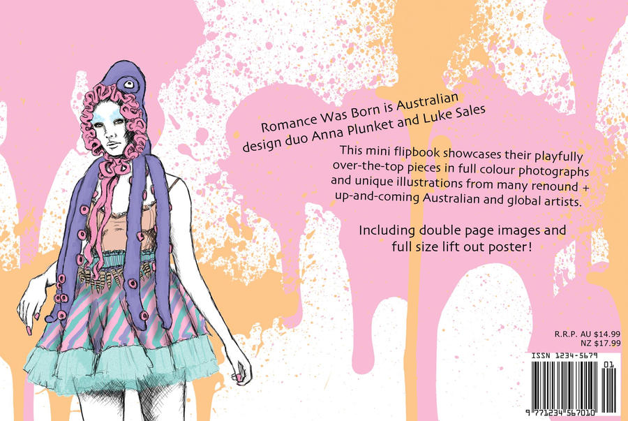 Fashion Book Cover Job : Rwb fashion book back cover by jade bailey on deviantart