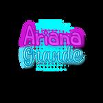 Texto PNG de Ariana Grande