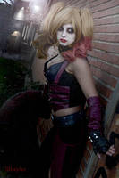 Harley Quinn ( Batman Arkham City ) by JillStyler