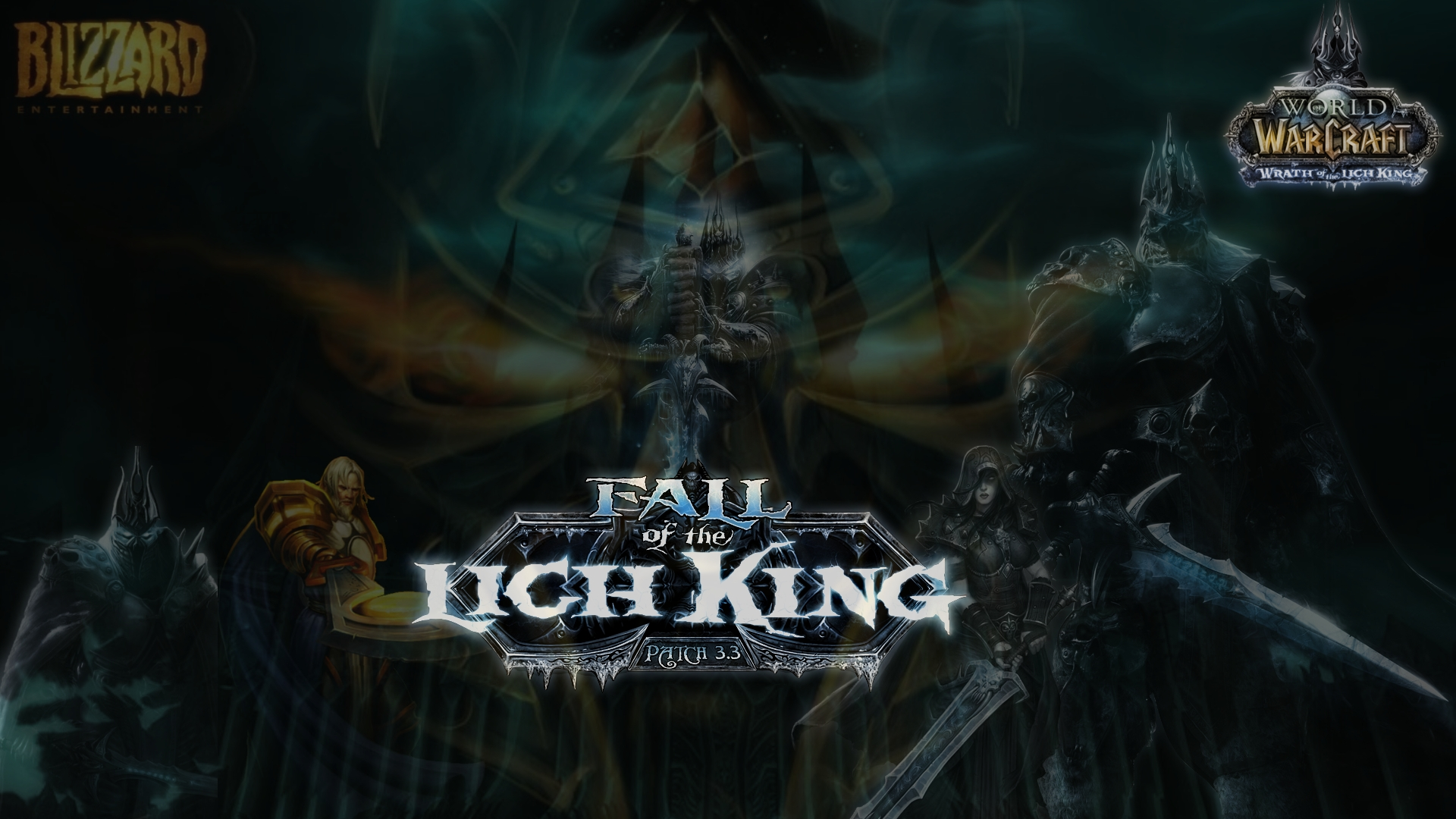 Wrath Of The Lich King Wallpaper By Anakin Caffrey On Deviantart