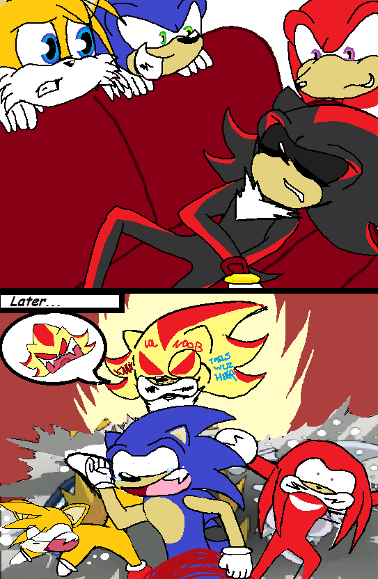 Pin funny sonic comics arms the fox hedgehog fan art on pinterest