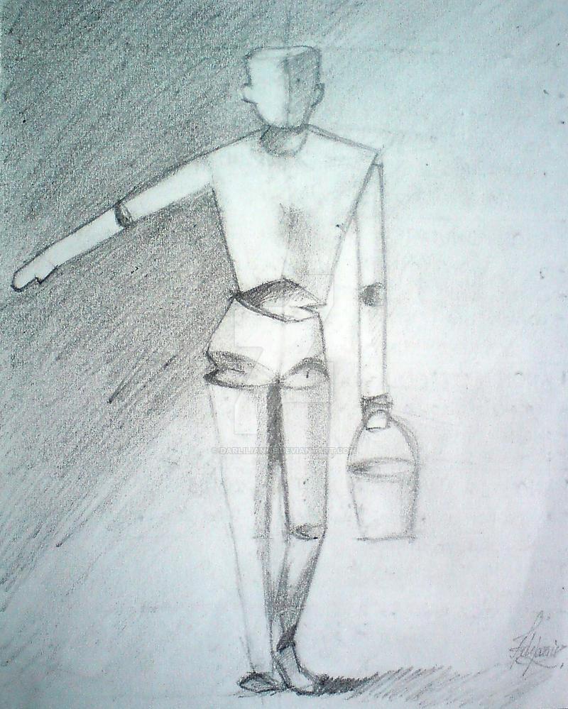 Paper Man by Darlilianne