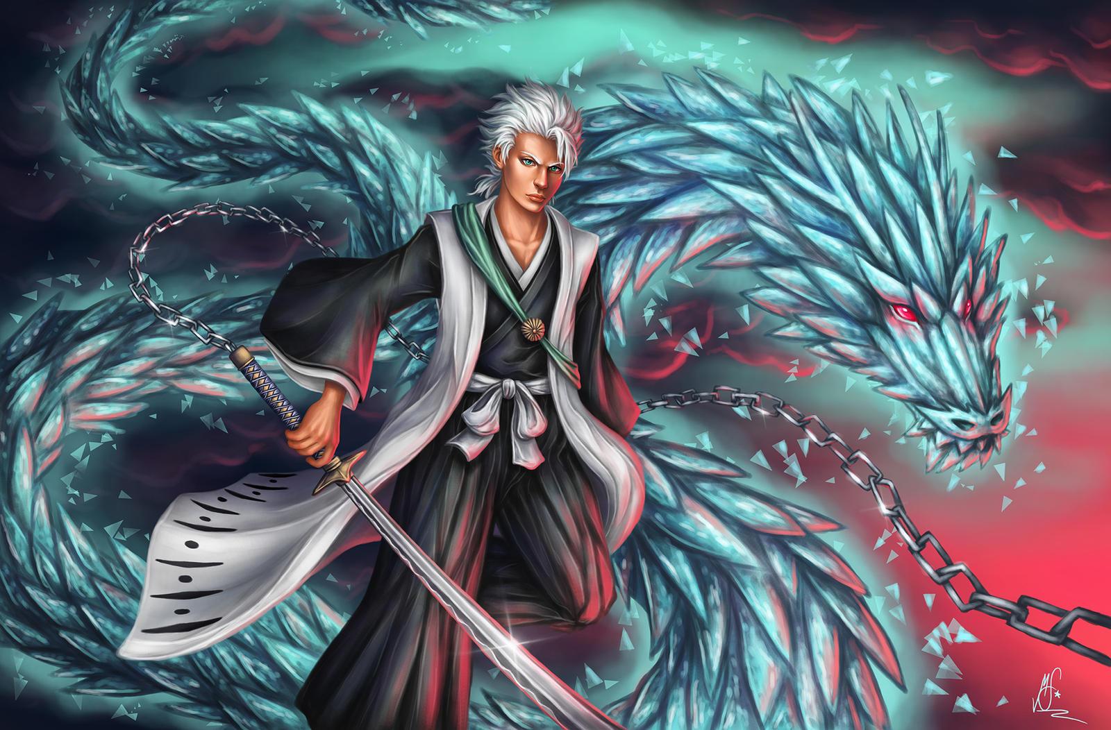 Bleach: Toshiro by xRaika-chanx