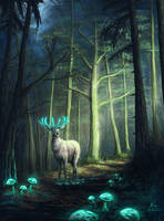 Forest Keeper by xRaika-chanx