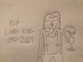 Wax Larry King Mourns :(