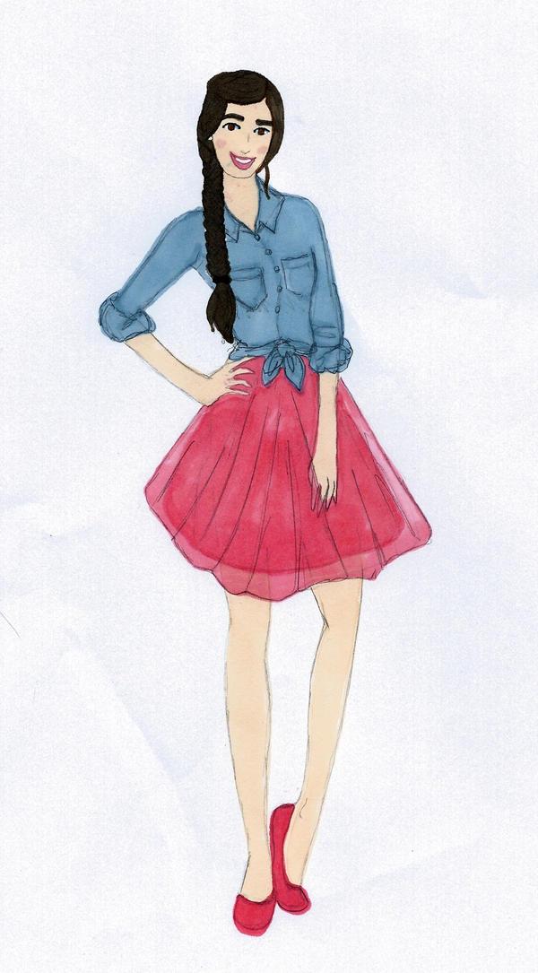 Tulle 'n' Jeans by Sunike