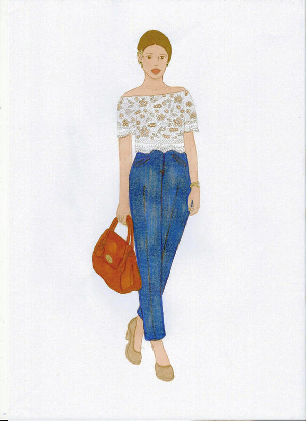 Crop Top - High Waist by Sunike