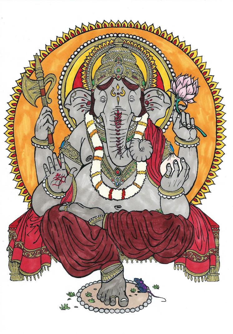 Ganesha by Sunike