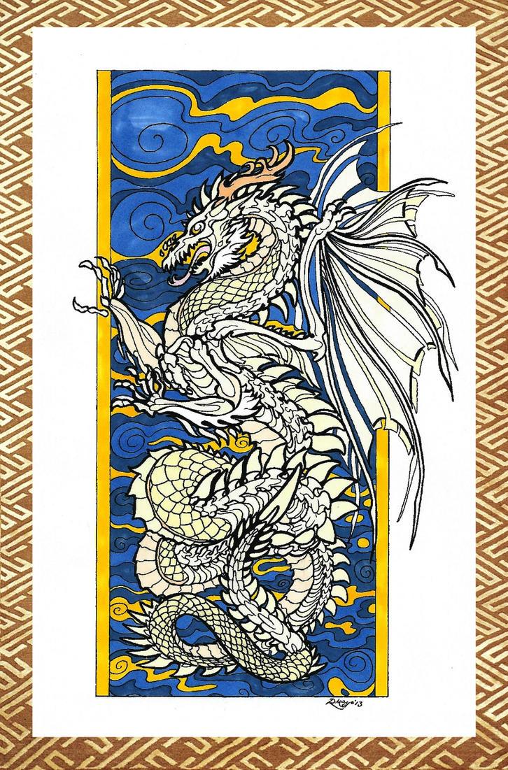 Bone dragon by Sunike
