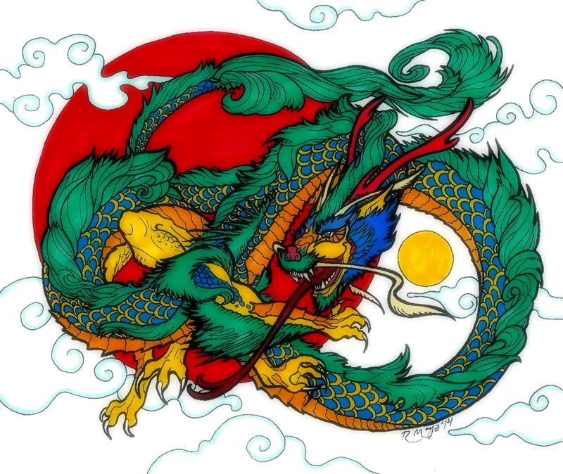 Sun Dragon by Sunike
