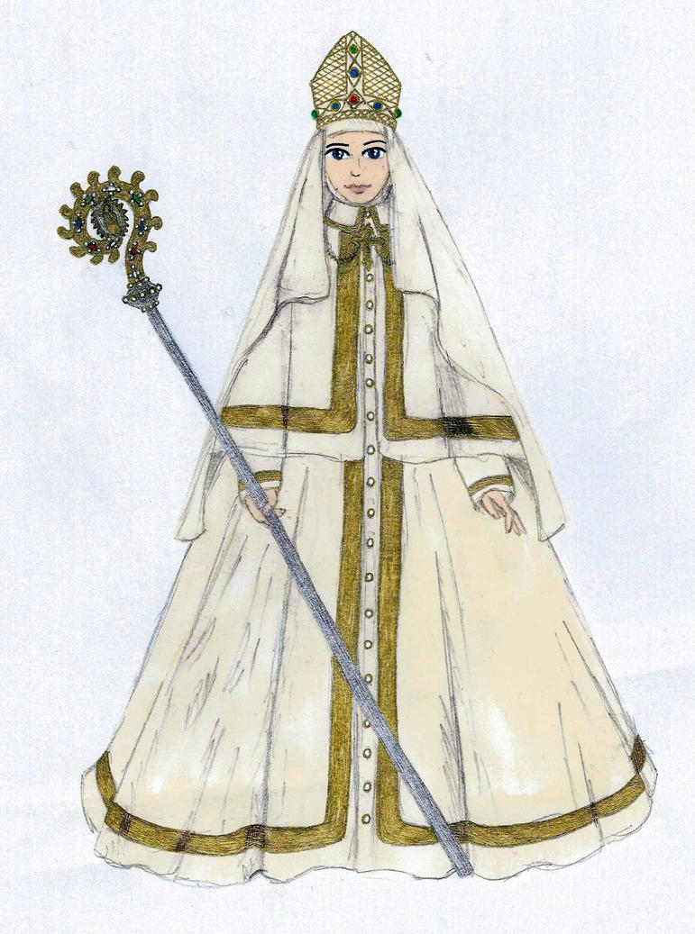 The Female Pope by Sunike