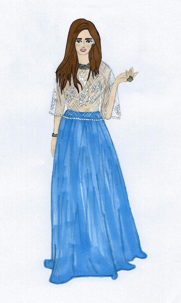 Blue and Lace by Sunike