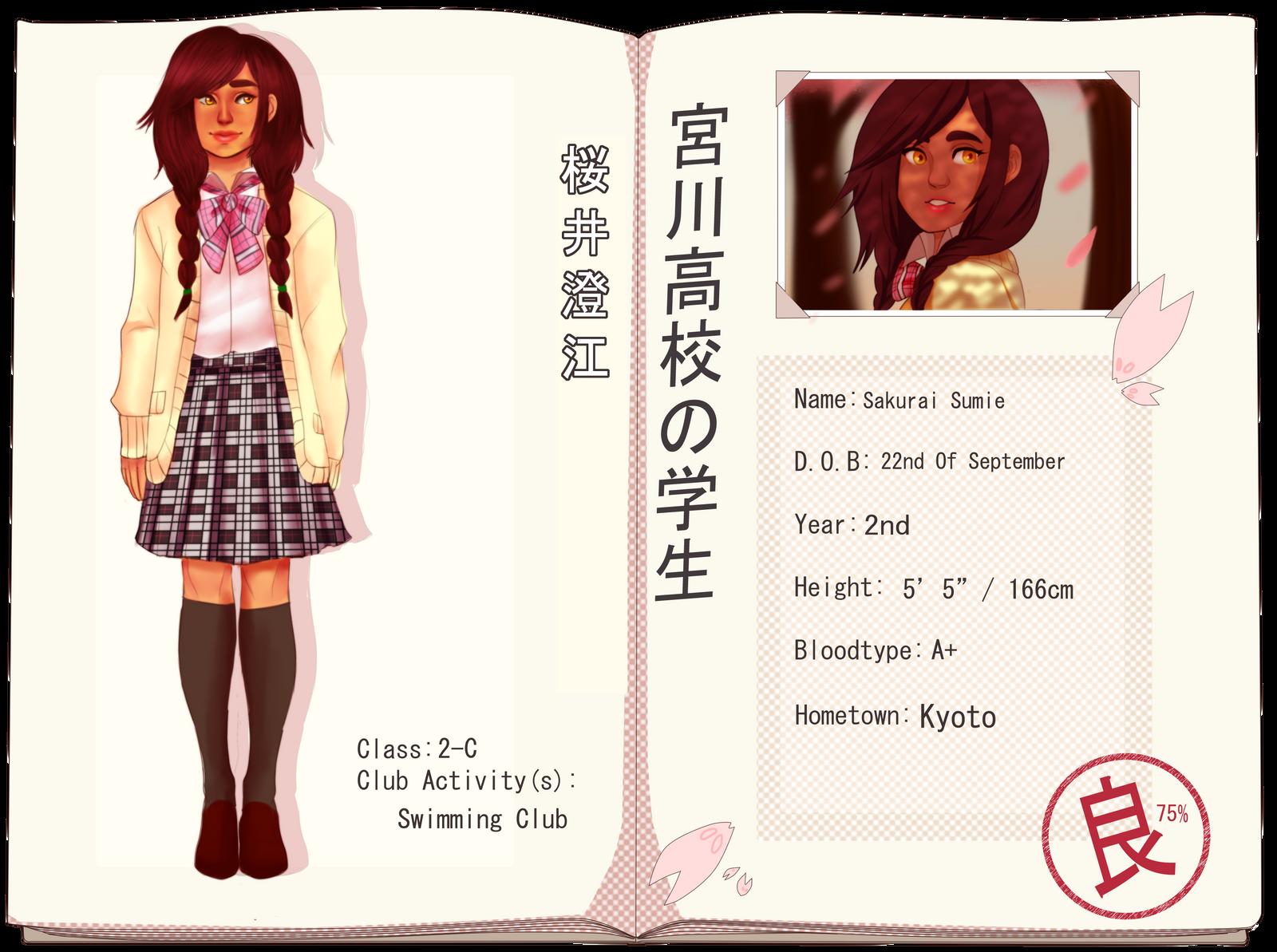 MH: Sumie Sakurai by Pinaydoll