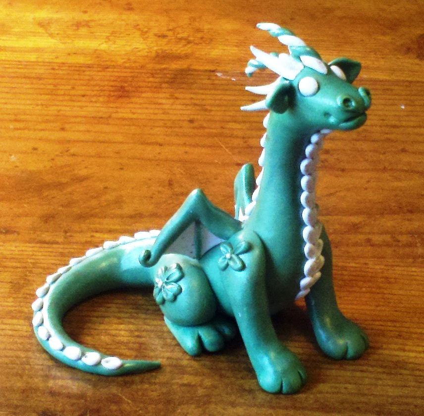 Celtic Green Dragon by Valtira