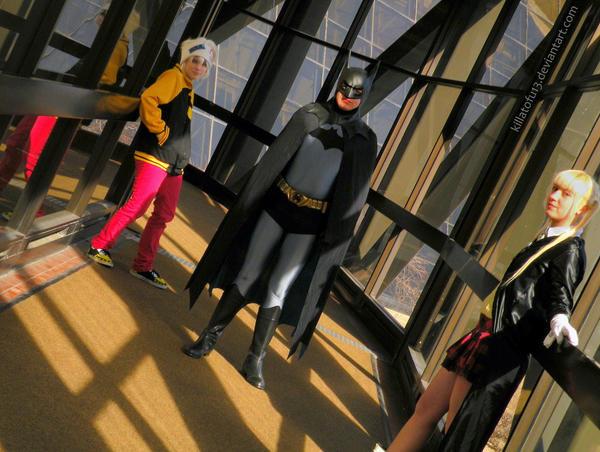 Technician, Weapon, and Batman by KillaTofu13
