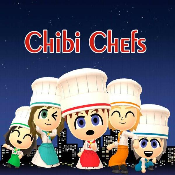 Miitomo: Chibi Chefs by FWAOfficial