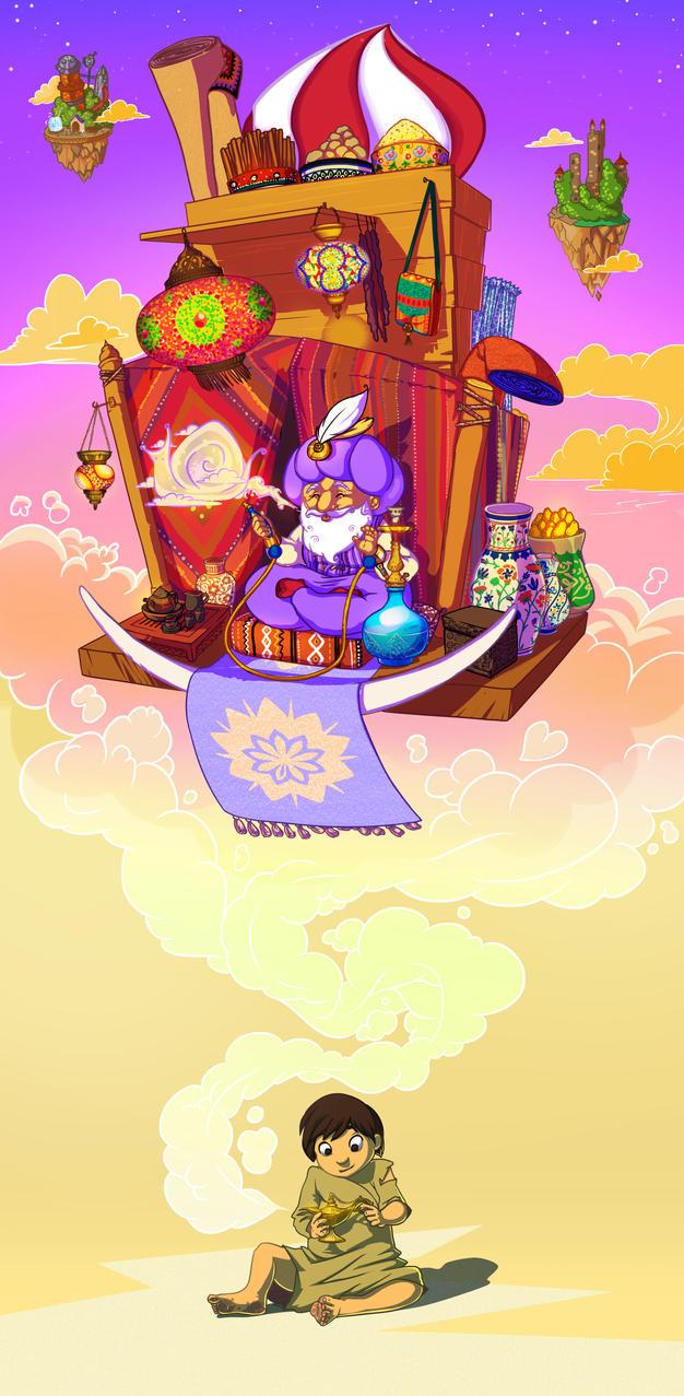 Genie by OriginalShaggy