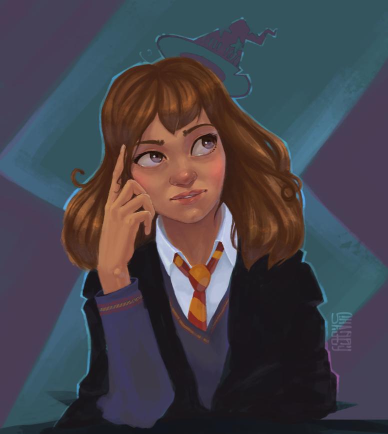 Hermione by OriginalShaggy
