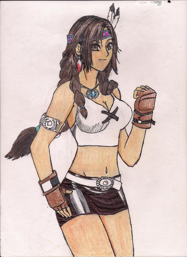 Julia Chang Sketch by BlackReaper7