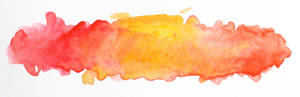 Watercolor title background (red and yellow)