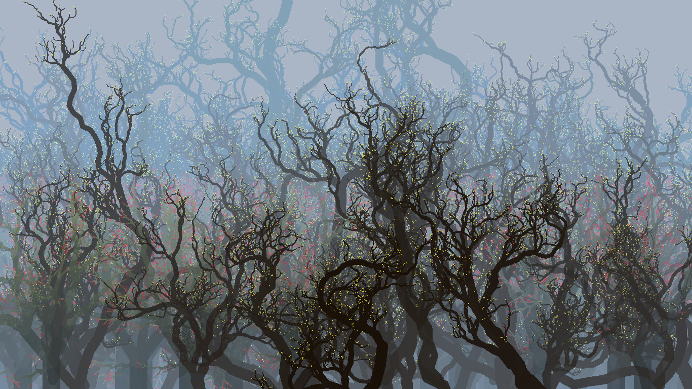 Generative forest by JaBoJa