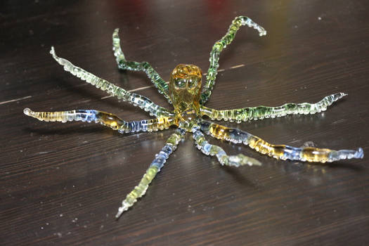Glass octopus (finished)