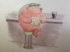 Sunday afternoon bear by bodrington