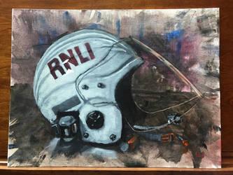 RNLI helmet by bodrington