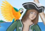 Pirate Detail by asynjur