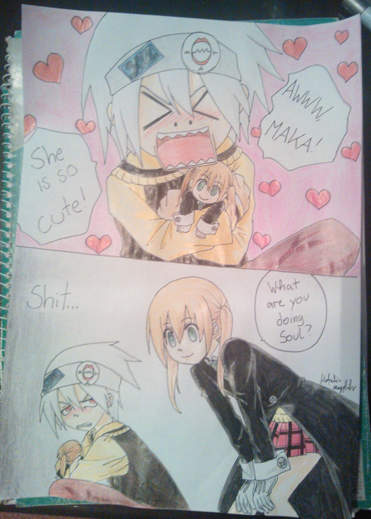 Soul and Maka by Killjoy-Chidori