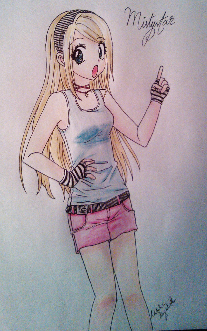 Soul Eater OC Mistystar by Killjoy-Chidori