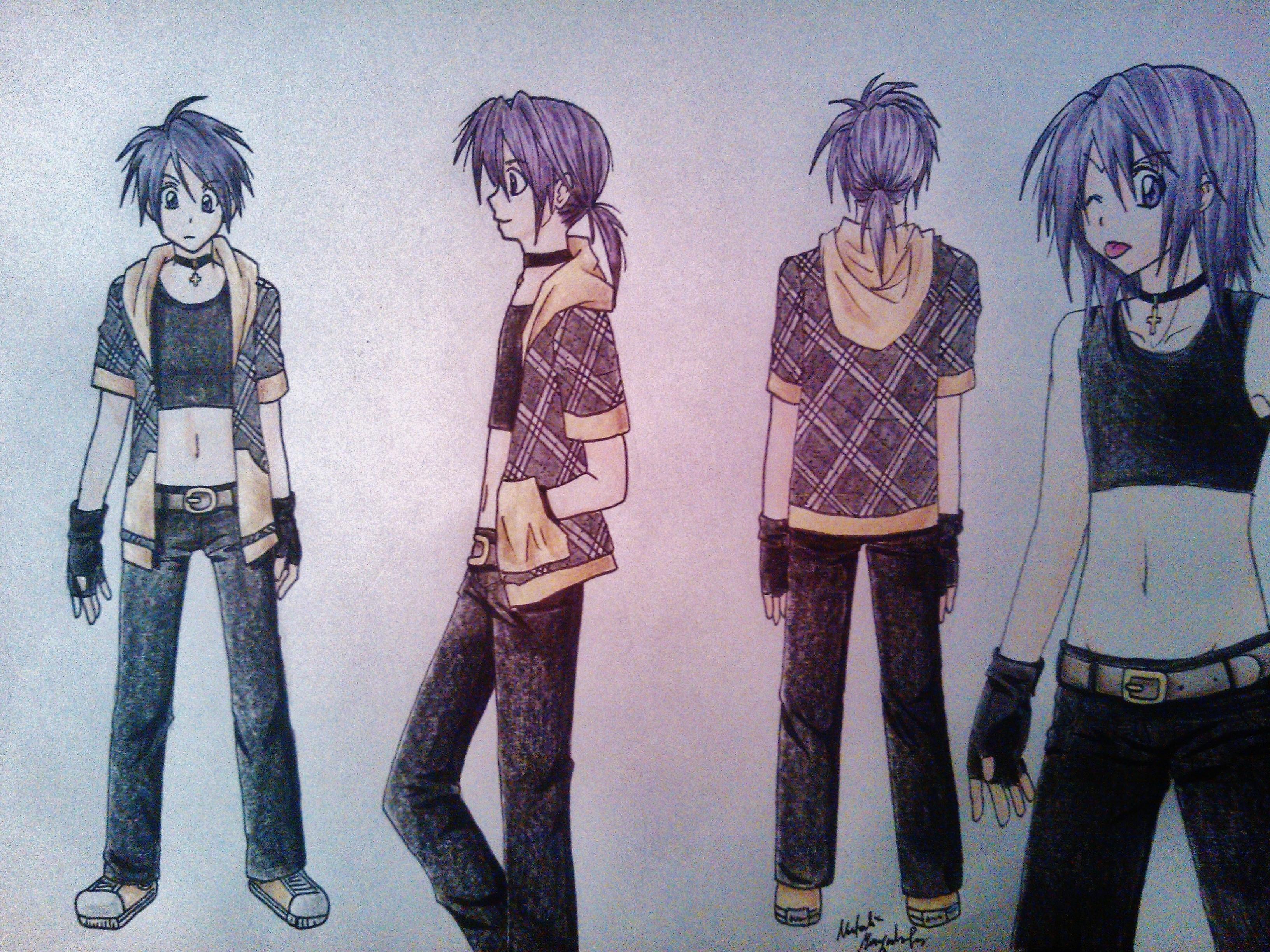 Soul Eater OC Chiaki by Killjoy-Chidori