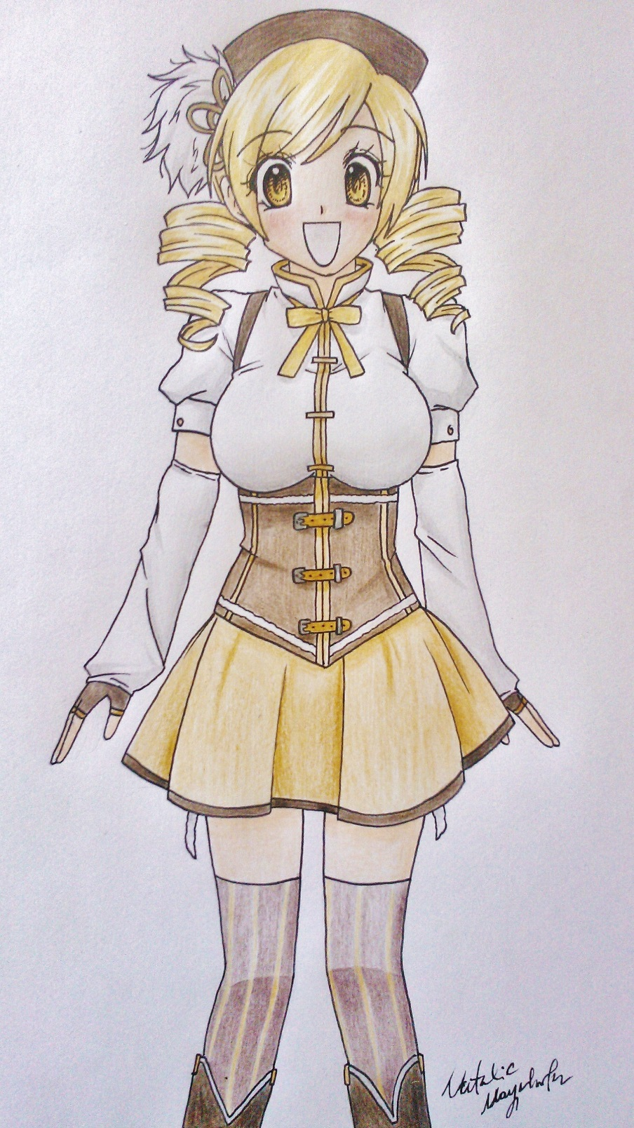 Mami Tomoe by Killjoy-Chidori