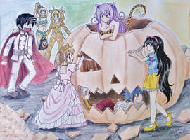 Soul Eater Halloween by Killjoy-Chidori