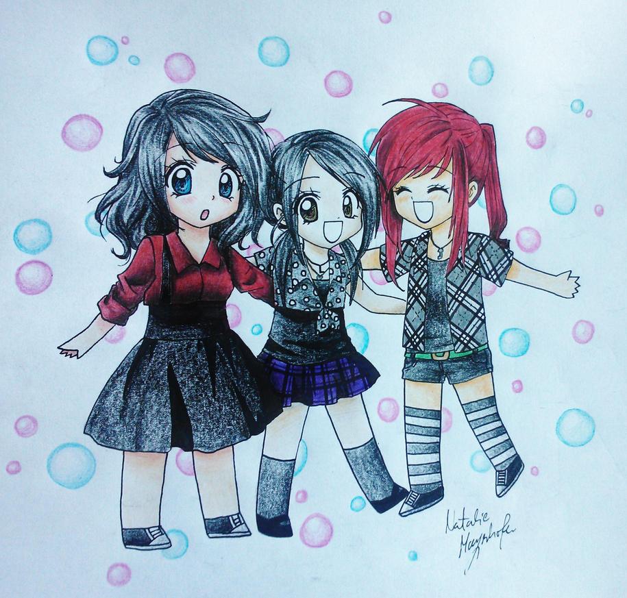 Friends =D by Killjoy-Chidori