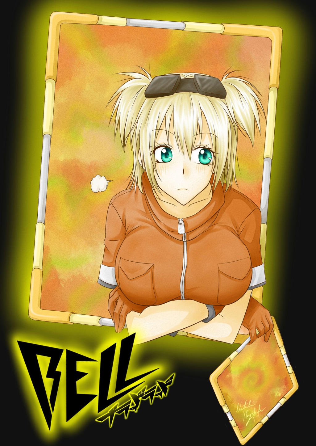 blood lad bell