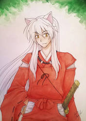 Inuyasha  by Killjoy-Chidori