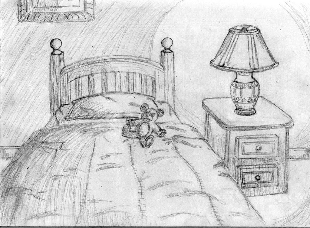 Cozy Bedroom Sketch By Shadow And Espio On Deviantart