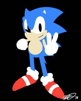 Lineless Sonic