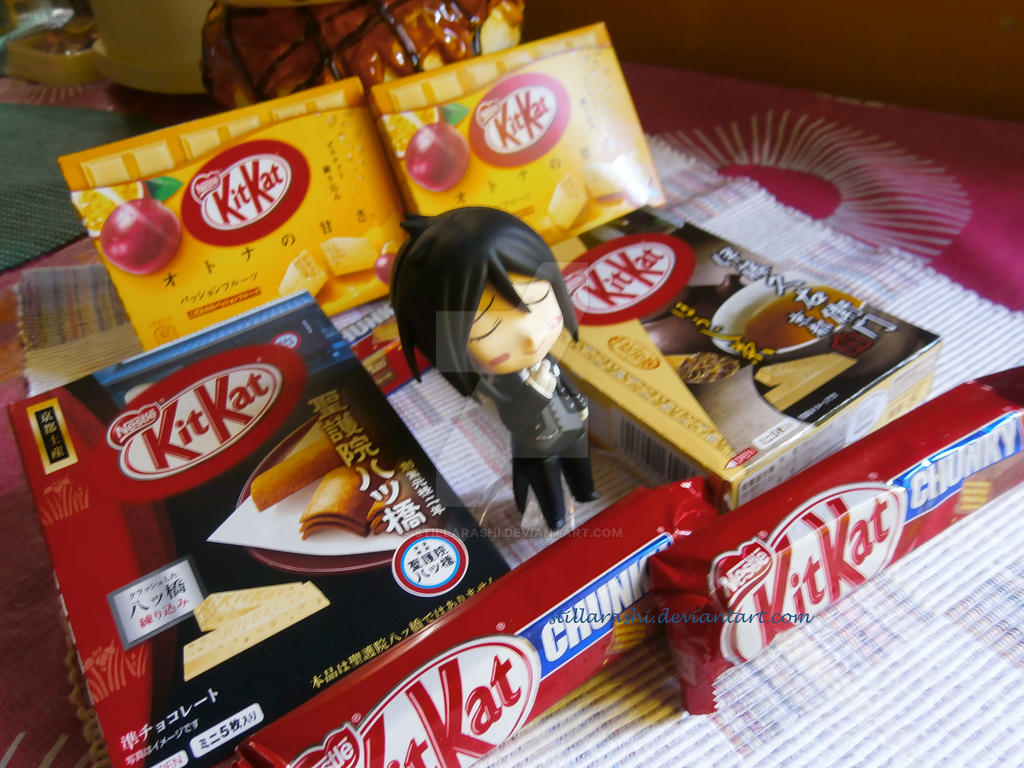 sales figure of kitkat