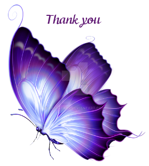 Thank You Purple By Bast4cats On Deviantart
