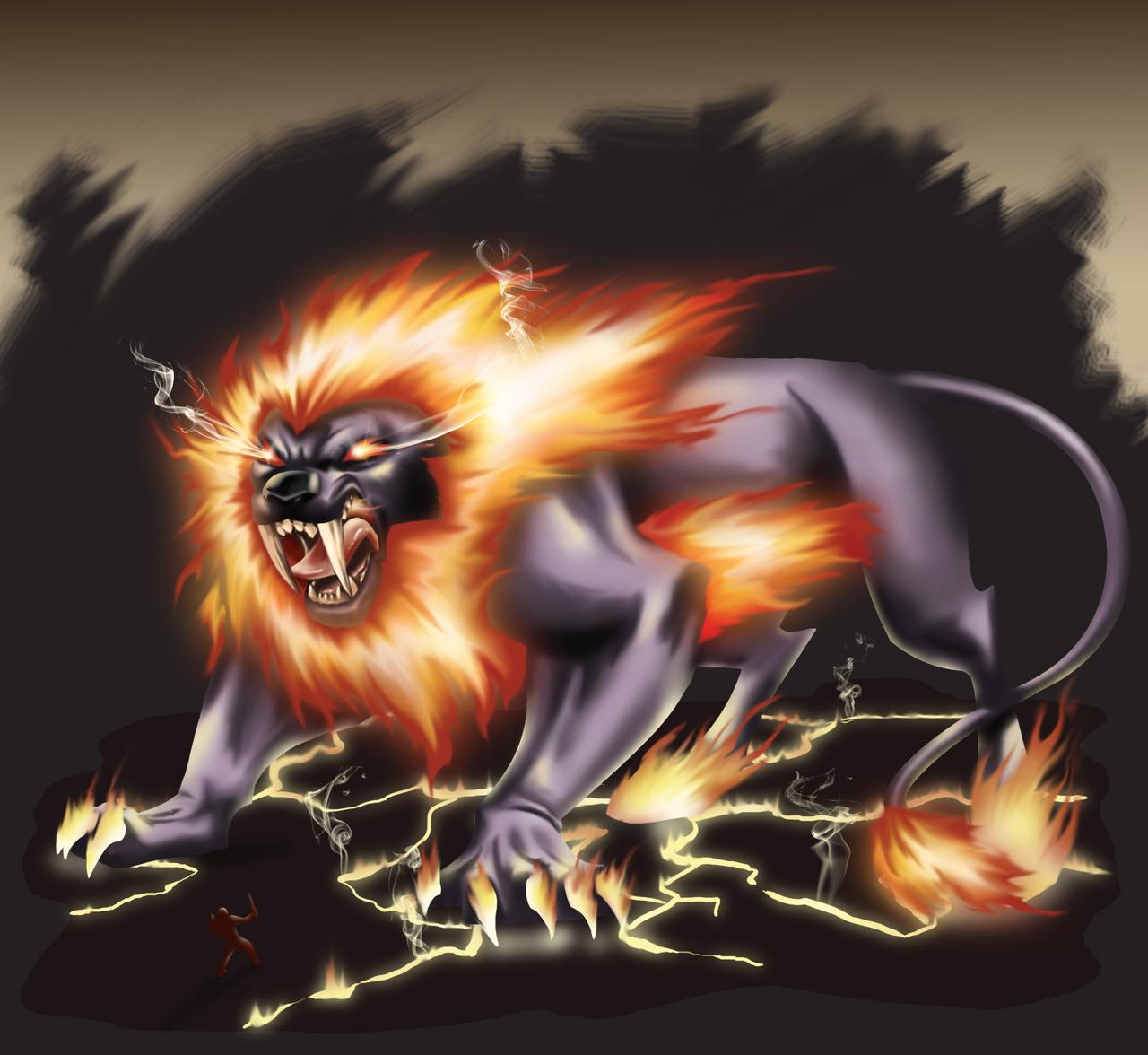 RIFT fire colossus by aerlixir