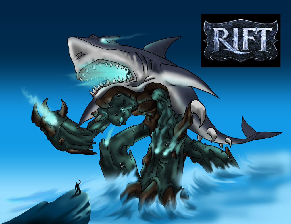 RIFT water colossus by aerlixir