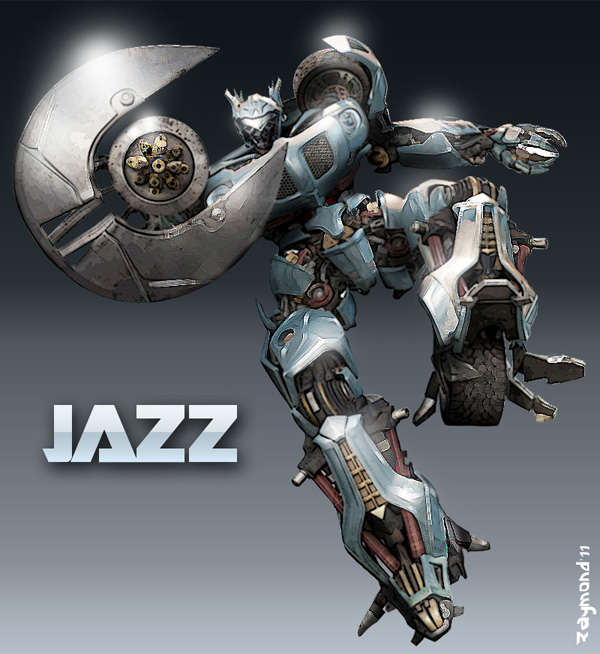 Autobot Jazz By Aerlixir On Deviantart