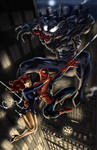 spidey and mj with venom