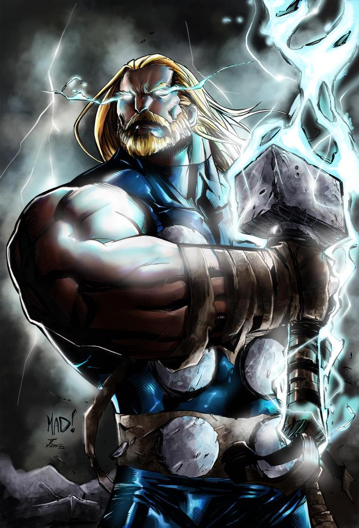 artwork gods lightning marvel - photo #7