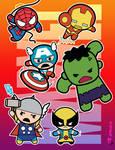Marvel  (chibi) Super Heroes