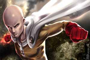 One punch man by aerlixir
