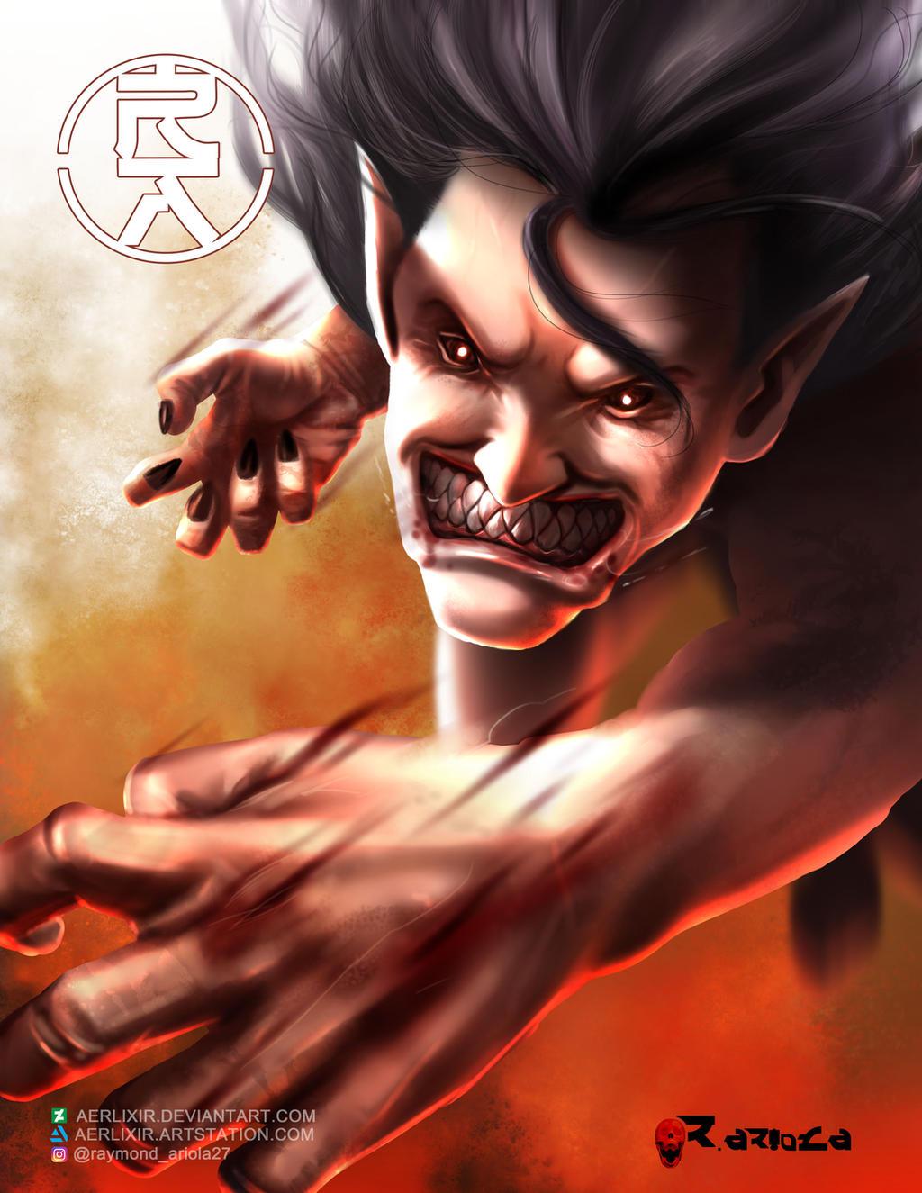 Ymir in titan form by aerlixir on DeviantArt